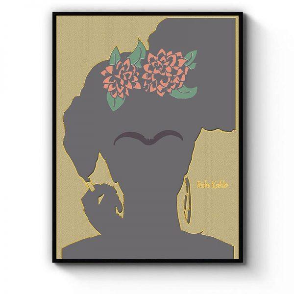 Frida Kahlo And Cigarette Minimalism Mockup 12