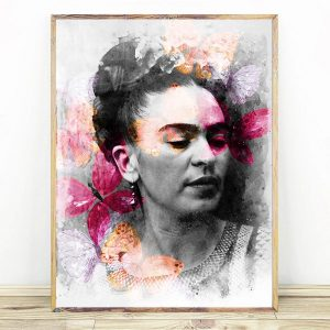 Frida Kahlo Color Butterfly