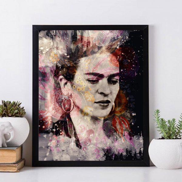 Frida Kahlo Color Face Mockup 13