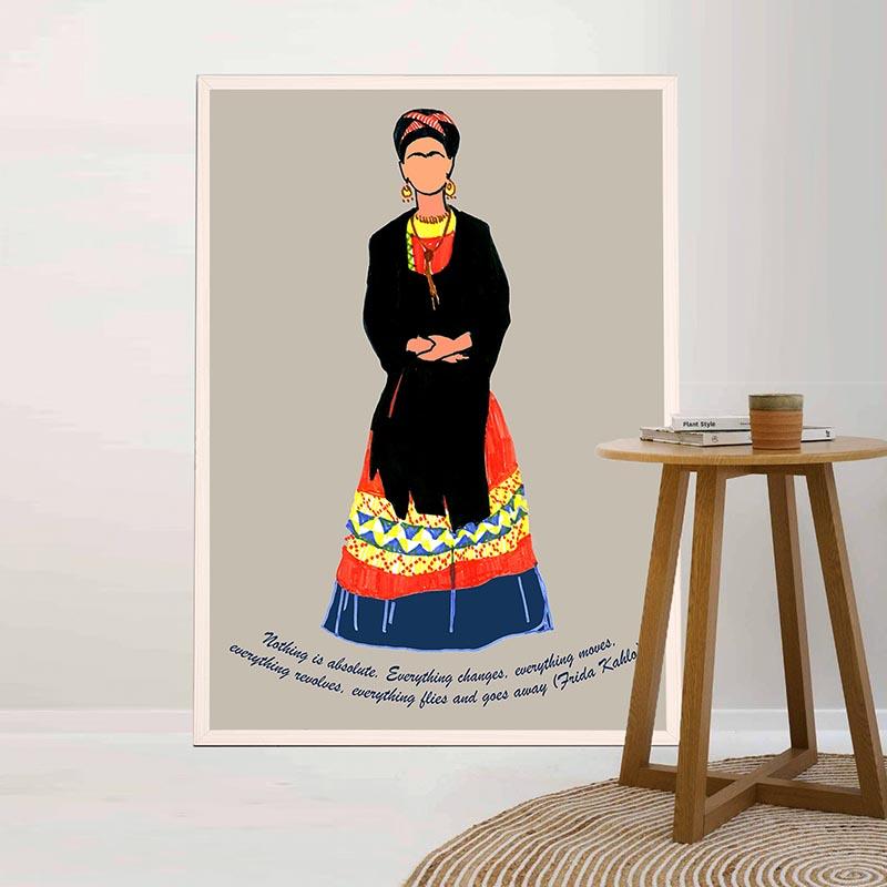 Frida Kahlo In Dress