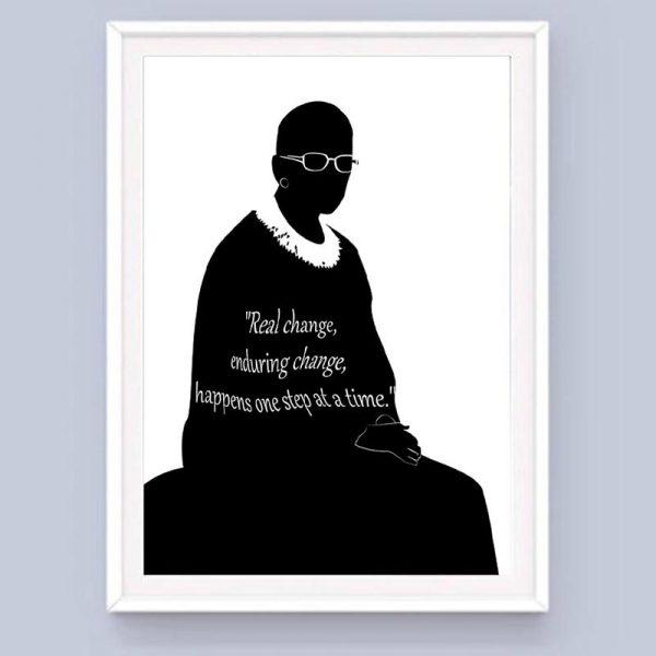 Ruth Bader Ginsburg Citation Real Change Mockup 05