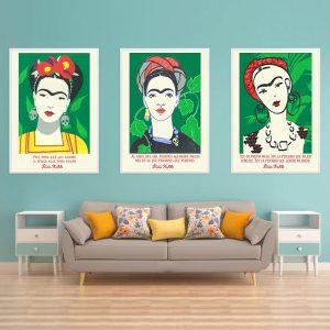 Set of 3 Frida Kahlo Posters
