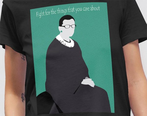Tshirt RBG Figth for the Things Mockup 09