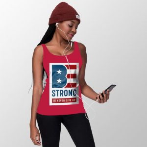Patriotic Woman Tank Top