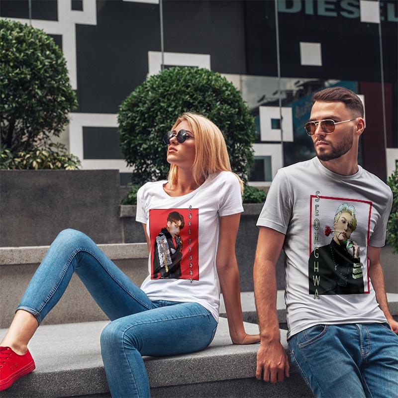 T-shirts fashion collection